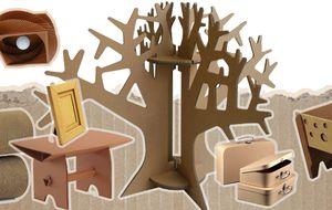 ¿Decorarías tu casa con cartón?