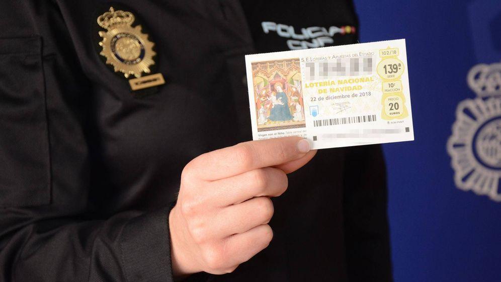 Foto: La Policía Nacional da algunos consejos para comprar Lotería de forma segura