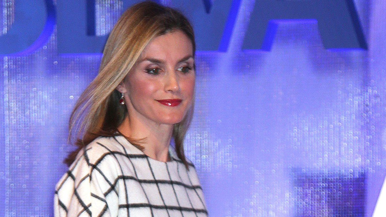 Foto: La Reina, en el acto de celebración del X aniversario de Fundéu (Gtres)
