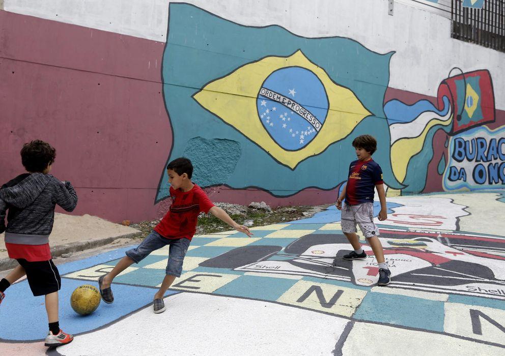 Foto: Los niños brasileños tendrán vacaciones durante el Mundial (EFE)