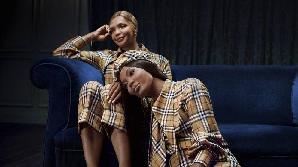 La madre de Naomi Campbell eclipsa a su hija en la campaña de Burberry