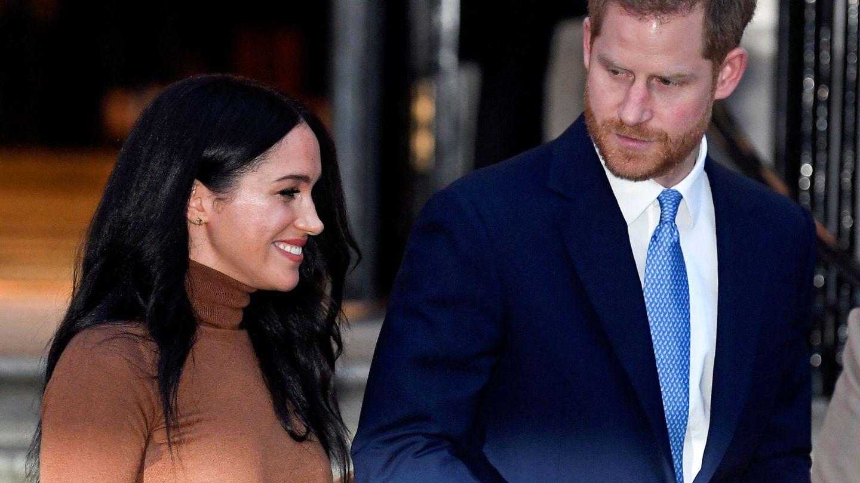 El príncipe Harry y Meghan Markle. (Reuters)