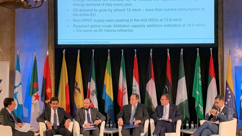 Reunión de la OPEP en Viena. (EFE)