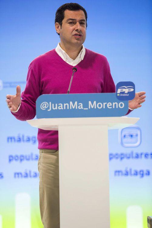 Juanma Moreno Bonilla, líder del PP andaluz. (EFE)