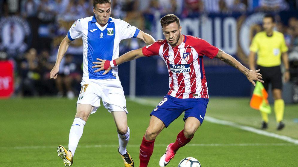 Foto: Saúl es intocable para Simeone: ha jugado todos los minutos del Atlético de Madrid en lo que va de temporada. (EFE)