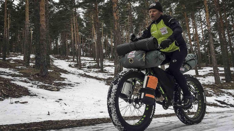 El triatlón de Antonio de la Rosa: la aventura sobre nieve jamás contada