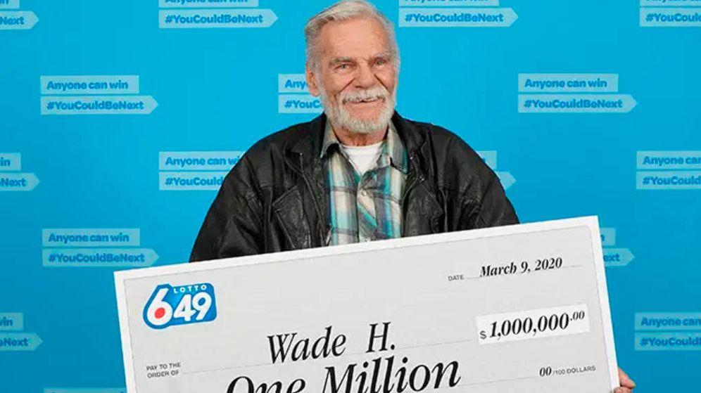 Foto: Wade Hardie reconoce que ha jugado a la lotería desde que tiene memoria (Foto: B.C.Lottery)