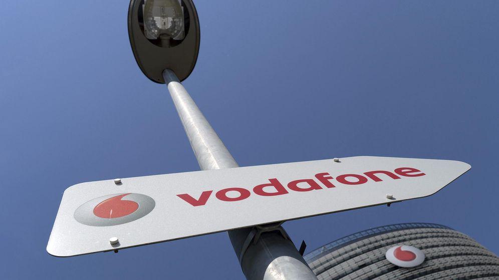 Foto: Sede de Vodafone en Düsseldorf (EFE)