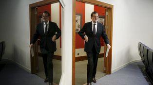 Rajoy, ensimismado