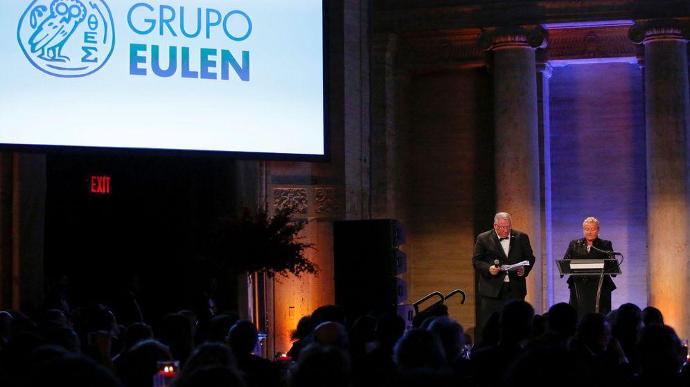 Foto: La presidenta ejecutiva del grupo Eulen, María José Álvarez Mezquíriz. (EFE)