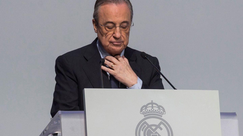 Florentino Pérez. (EFE)