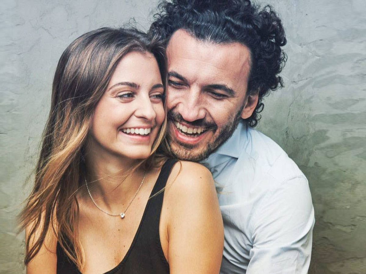Foto: Gabriela Palatchi con su marido, Ediz Elhadef. (IG)
