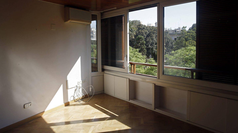 Vistas de una de las habitaciones.