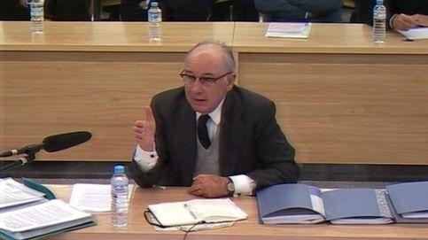 La visita sorpresa a Rato en su gran día del juicio de Bankia