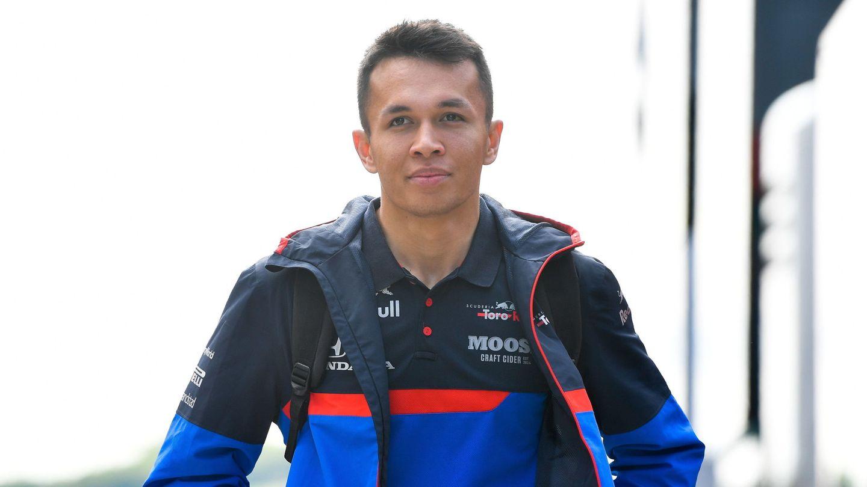 Alex Albon, el ya expiloto de Toro Rosso. (EFE)