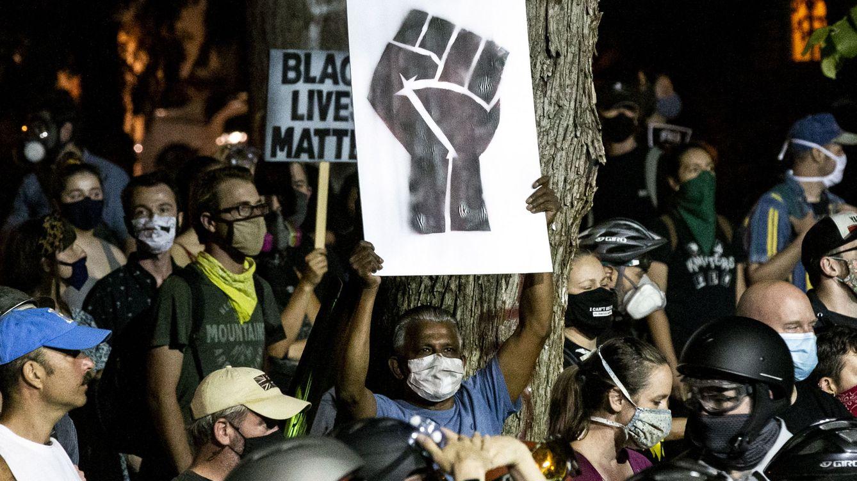 Foto: Imagen de las protestas antirracistas en Portland (Oregon, EEUU). (EFE)