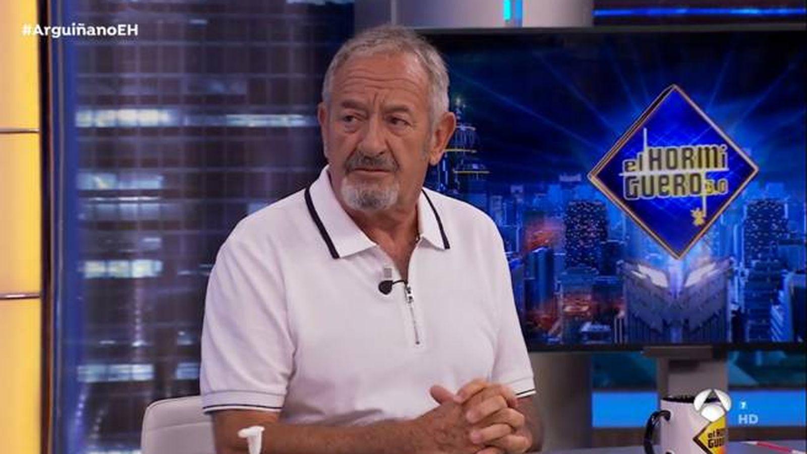 Foto: Karlos Arguiñano, en 'El hormiguero'. (Antena 3)