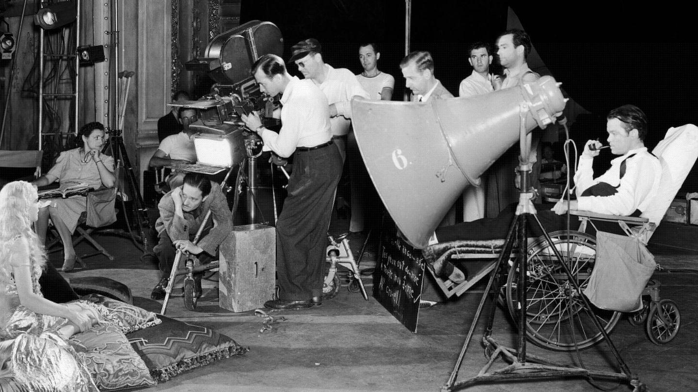 Welles, durante el rodaje de la secuencia de la ópera. (Cordon Press)