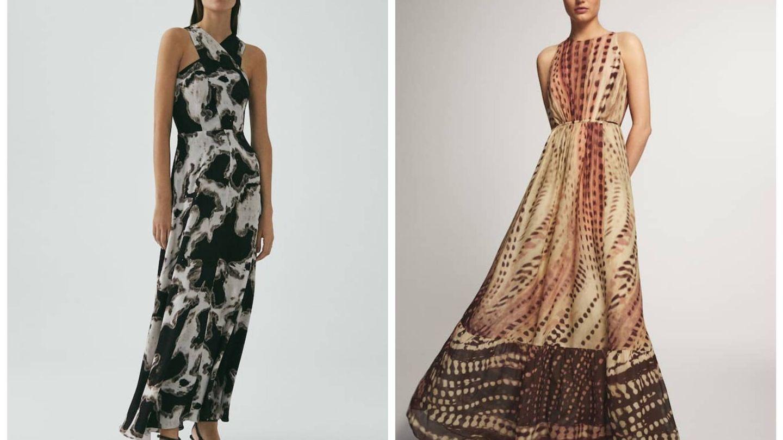 Vestidos de Massimo Dutti. (Cortesía)