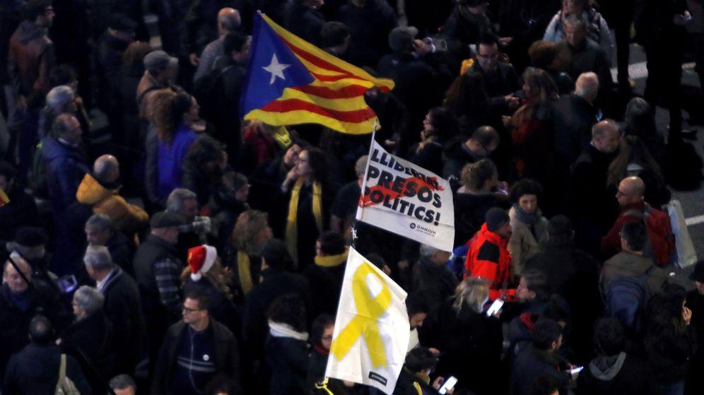 Foto: Manifestación independentista en una imagen de archivo. (EFE)