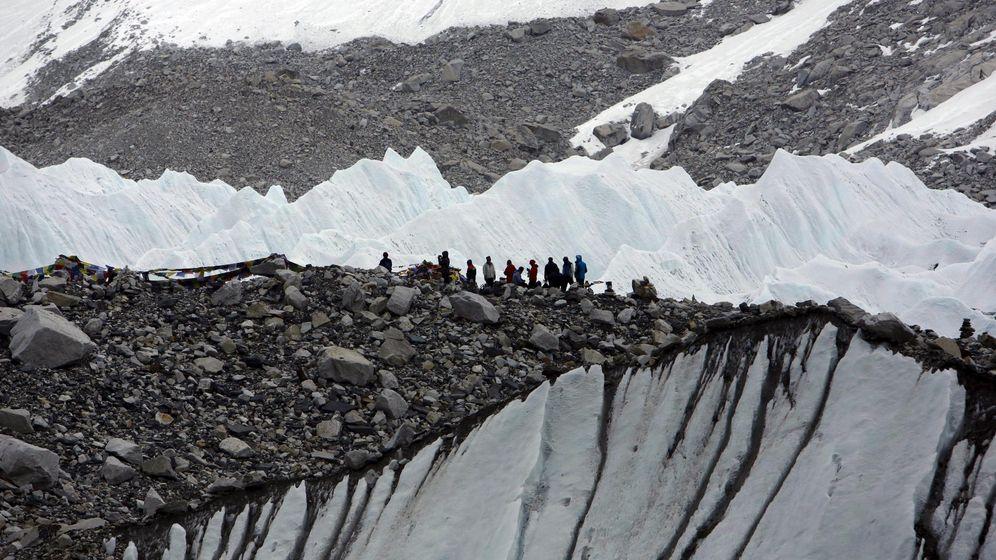 Foto: Terremoto Nepal. Imagen de archivo del campamento base. (Reuters)