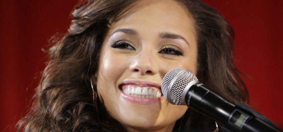 "Foto: Alicia Keys: ""Me gustaría ser como Barbra Streisand"""