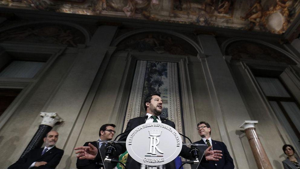 'Cerrojazo' en Bruselas: tenso silencio para no avivar el incendio en Italia