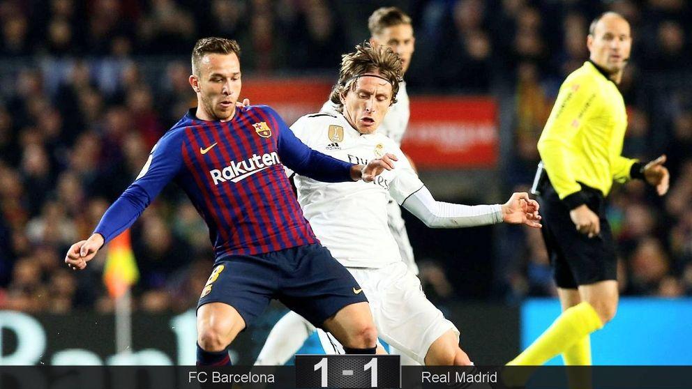 FC Barcelona - Real Madrid: resumen, goles y resultado de las semifinales de Copa
