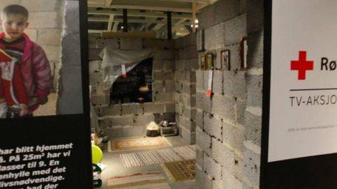 Ikea recrea una casa siria para recaudar dinero para la Cruz Roja