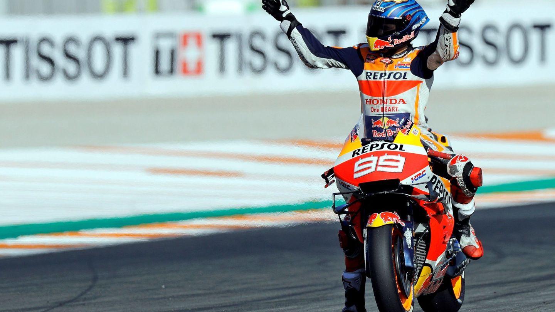 El piloto español de MotoGP, Jorge Lorenzo, en una imagen de archivo de 2019. (EFE)