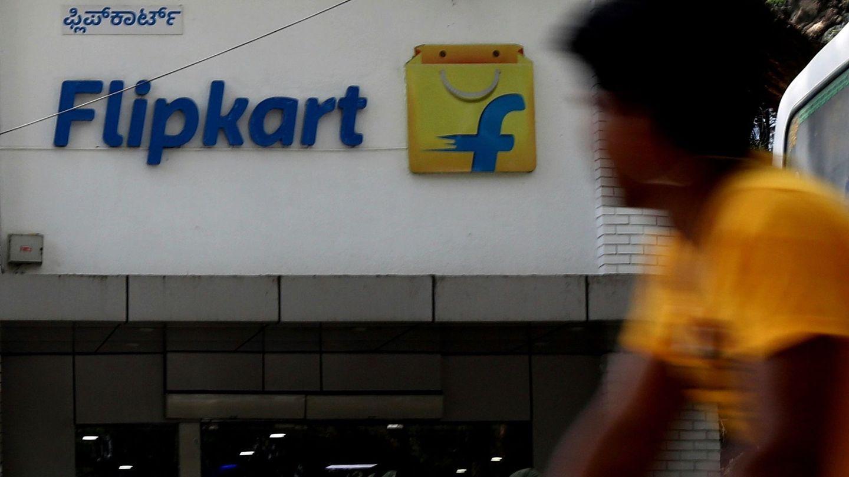Oficina de Flipkart en Bangalore, India. (EFE)
