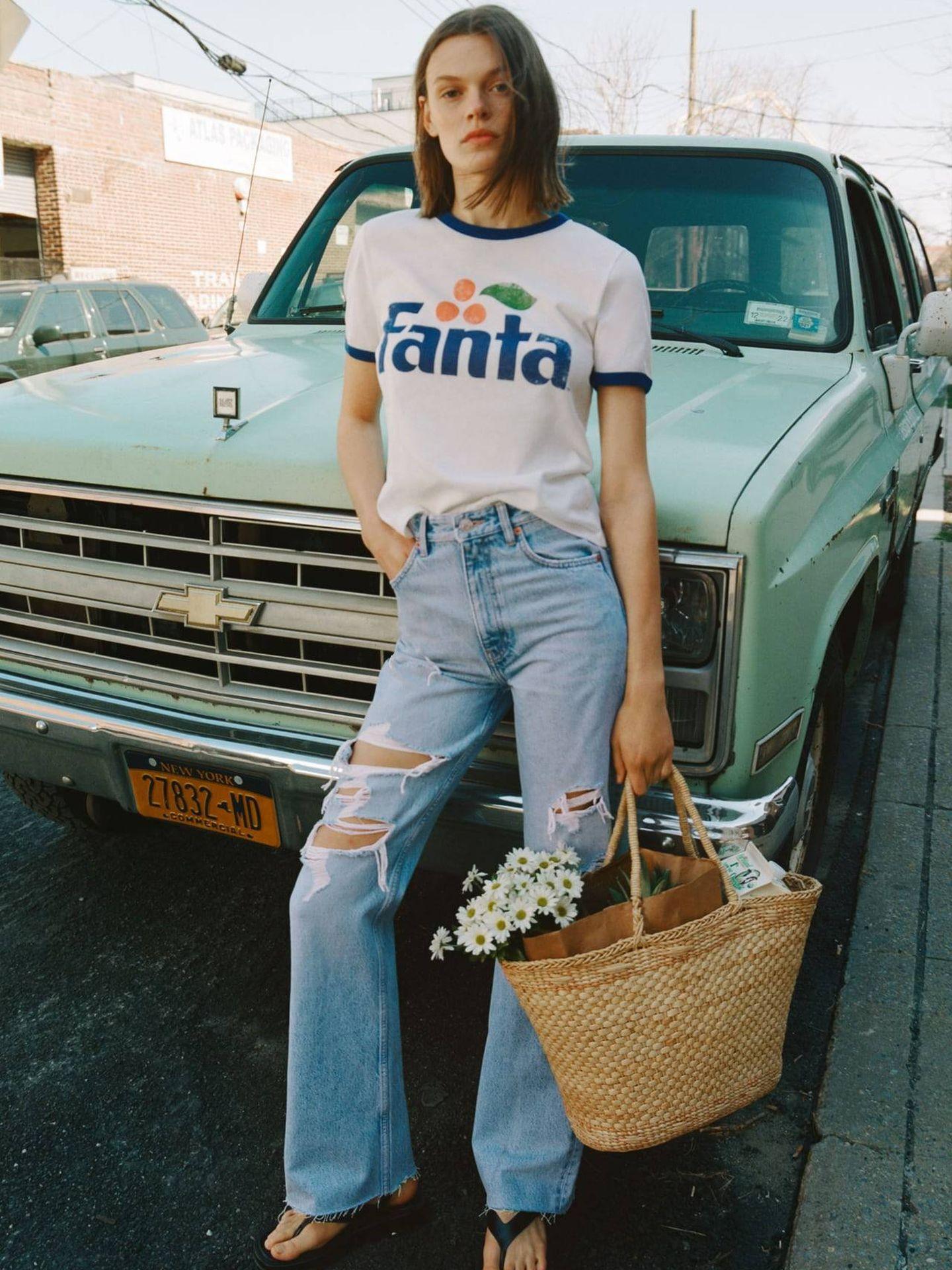 Camiseta de Fanta de Zara. (Cortesía)