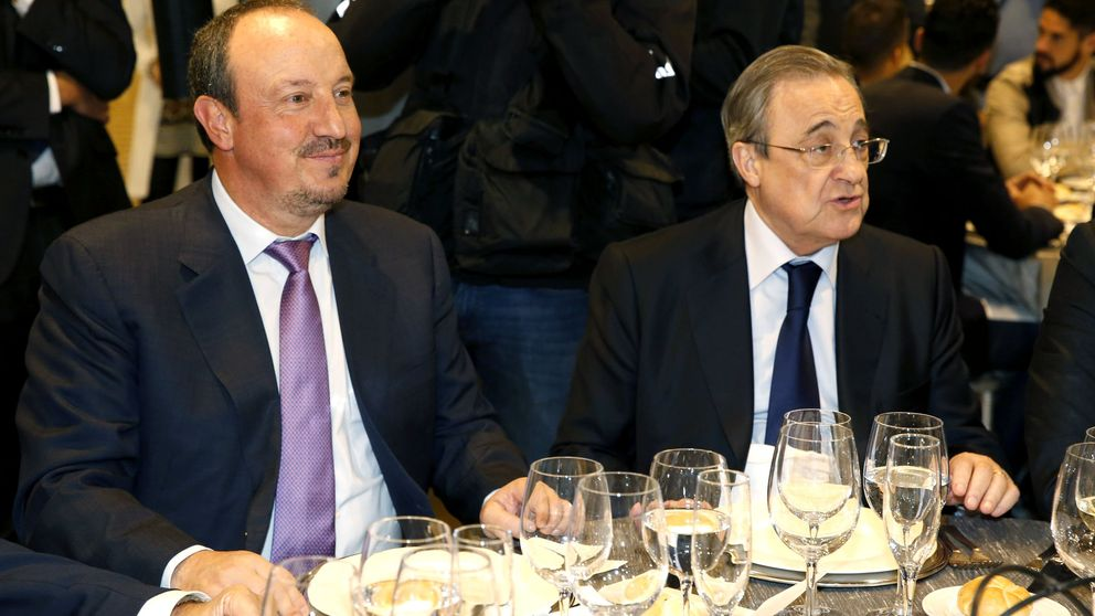Benítez comenta el partido por la tele y desenmascara a Florentino Pérez