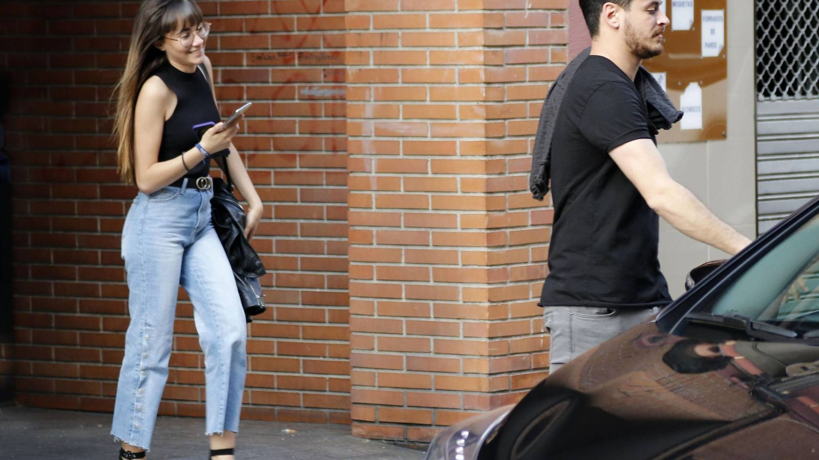Foto: Aitana y Cepeda en Madrid. (Cordon Press)