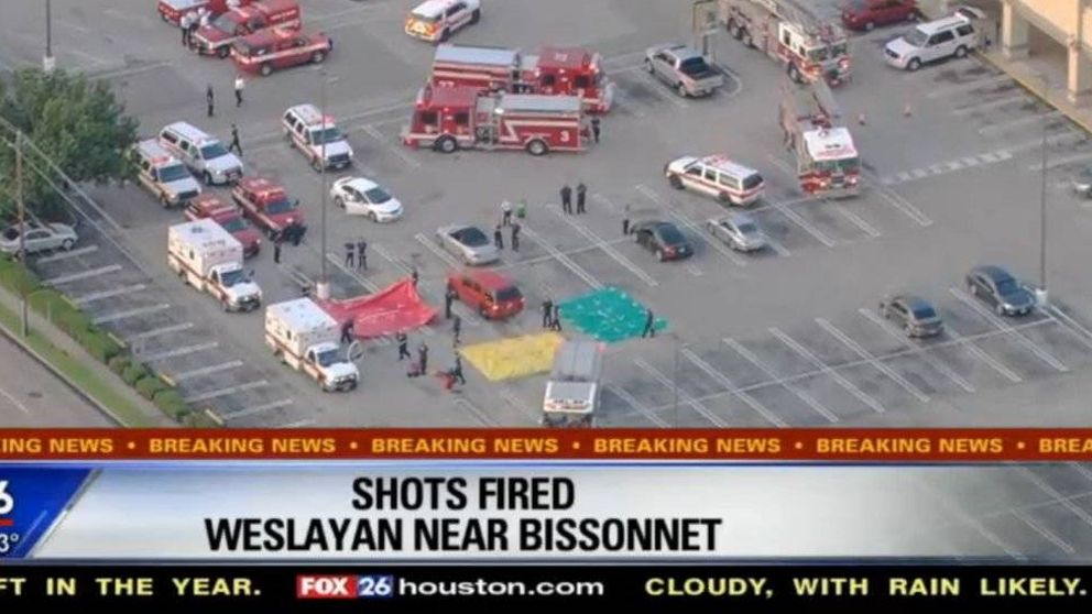 Varios heridos en un tiroteo en Houston