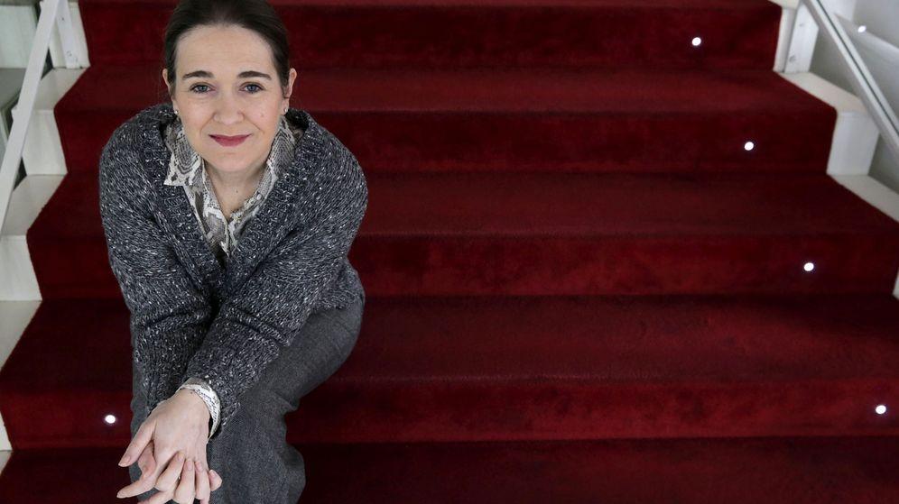 Foto: La escritora y candidata de Ciudadanos por A Coruña al Congreso. (EFE)