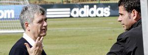 Villar ha decidido que Fernando Hierro no tendrá sustituto como director deportivo