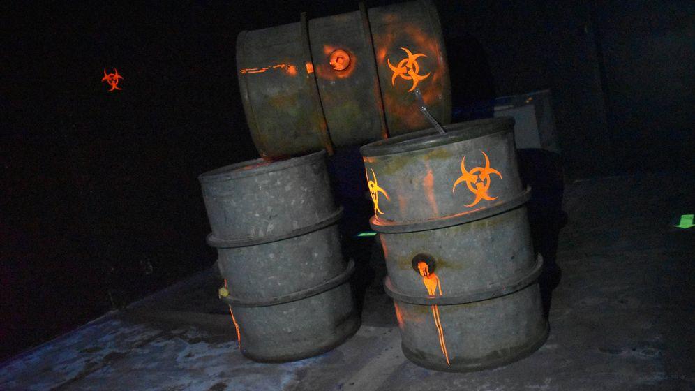 Foto: Imagen de Area 66, el recinto de juegos que hasta ahora ocupaba el bunker nuclear