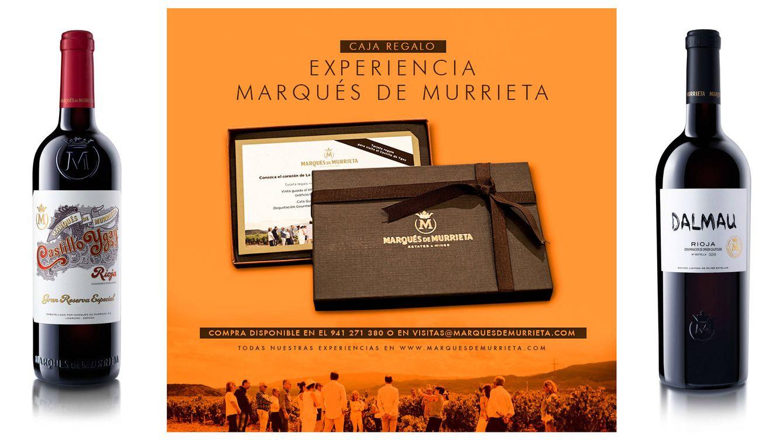 Foto: Vinos, estuches y experiencias enológicas dan vida al nuevo pack de Marqués de Murrieta.