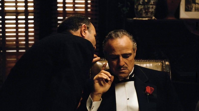 Marlon Brando, en 'El Padrino'. (Paramount)
