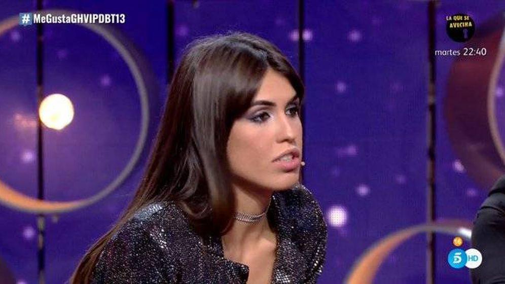 Foto: Sofía Suescun, en 'GH VIP 7'. (Telecinco)