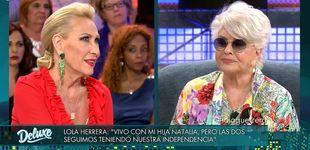 Post de Lola Herrera deja en ridículo a Rosa Benito en 'Sábado Deluxe'