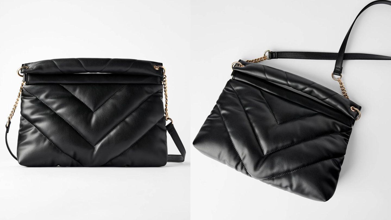La bandolera acolchada de Zara que ya está triunfando en Instagram. (Cortesía)