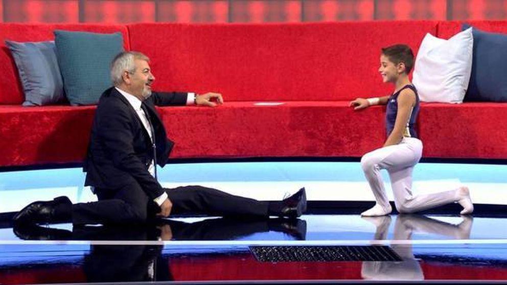 Carlos Sobera se estrena en 'Little big show' liderando el último viernes del año