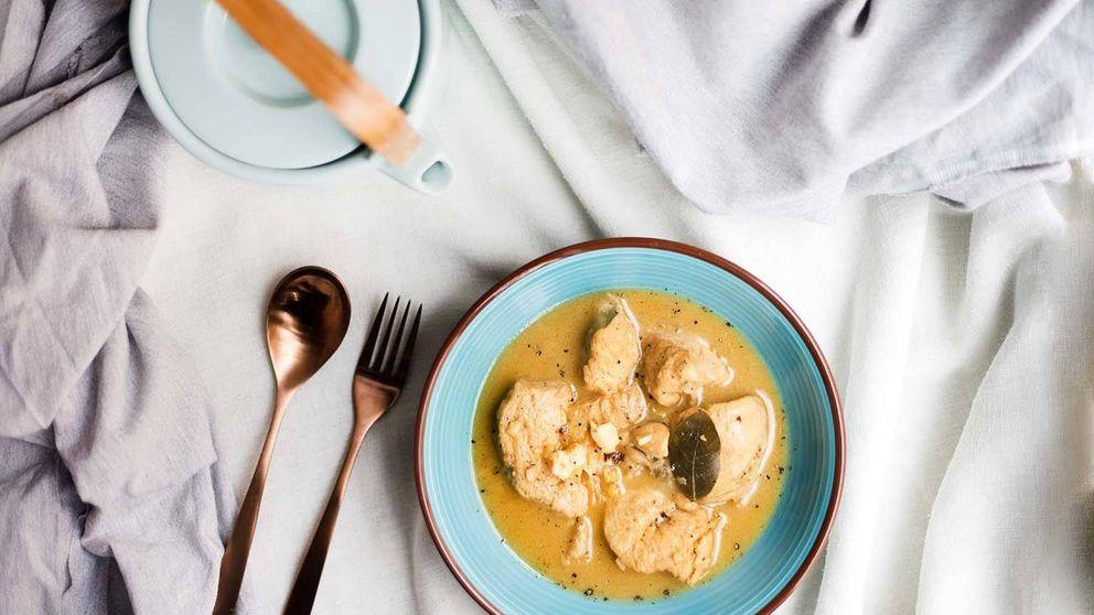 Pollo en pepitoria, receta clásica indispensable