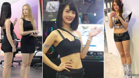 Así usan a las mujeres en Asia para vender tecnología: Aquí hay más carne que novedades