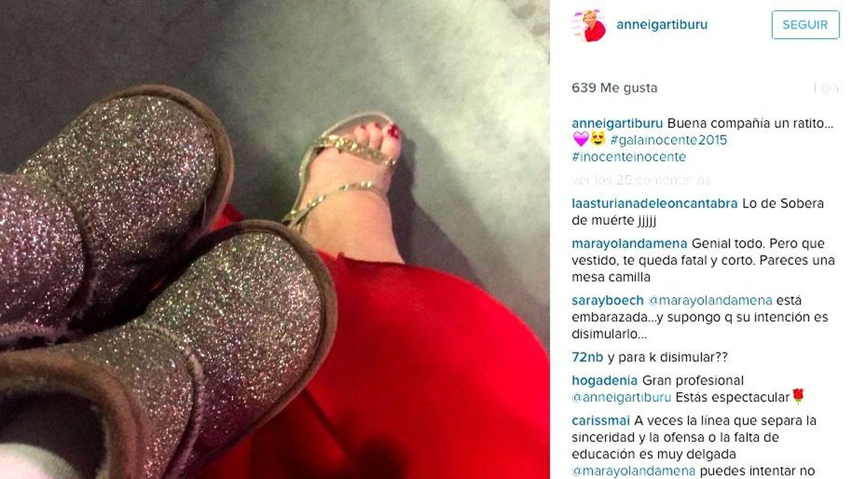 Instagram de Anne