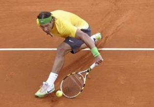 Foto: Nadal, Federer, Murray y Ferrer cumplen y estarán en cuartos de final