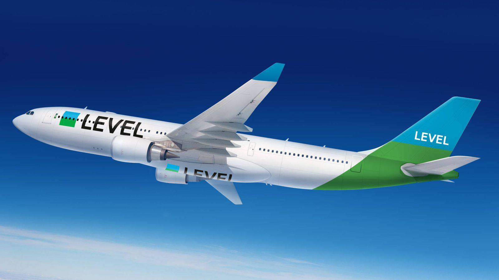 Foto: Aviones de LEVEL. (Fuente: IAG)