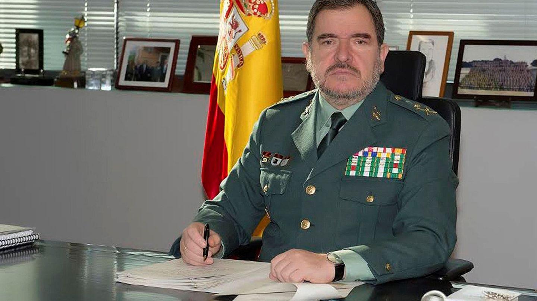 Fotografía de archivo del general jefe del Servicio de Información de la Guardia Civil, Pablo Salas. (EFE)